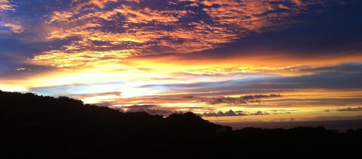 Playa Ocotal Costa Rica sunset