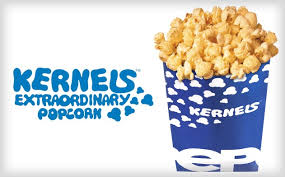kernels bag for advertising
