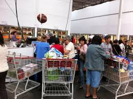 Costco feeding the masses