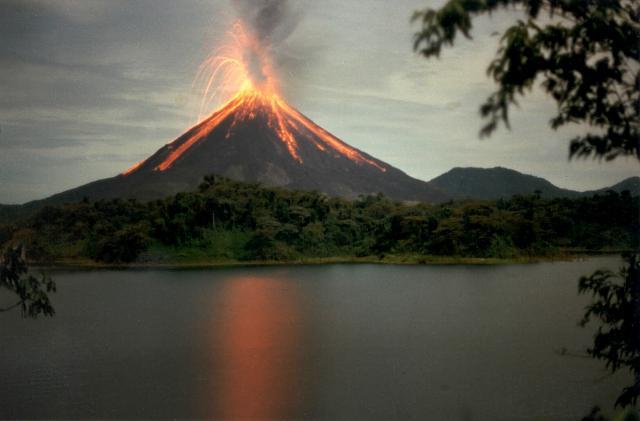 Areanl Erupting
