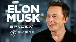 Elon with SpaceX
