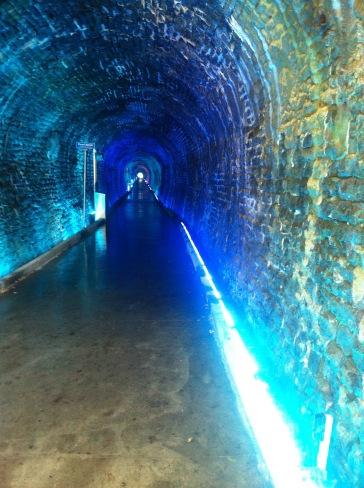 Brockville Tunnel Blue