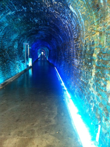 Brockville Tunnel Blue