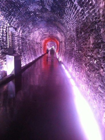 Brockville Tunnel Red and Purple