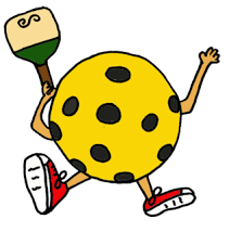 Goofy Clip art of pickleball