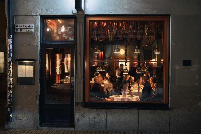 Sweden Restaurant AP David Keyton
